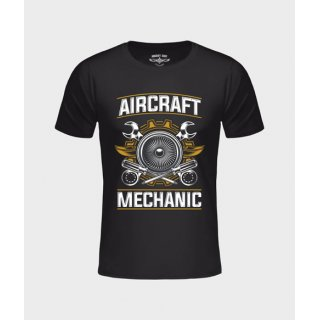 T-Shirt AC Mechanic schwarz